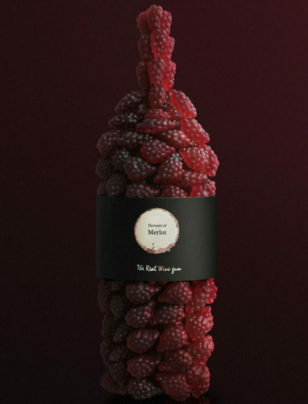 Vinoos The real Wine Gum Merlot
